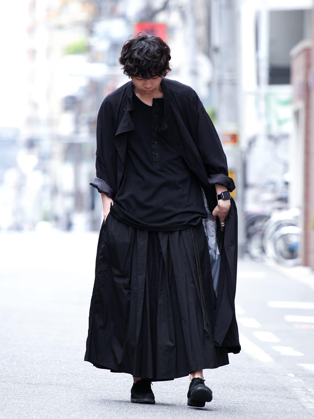Yohji Yamamoto 19SS HAKAMA Pants 2Way Coordinate - 1-001