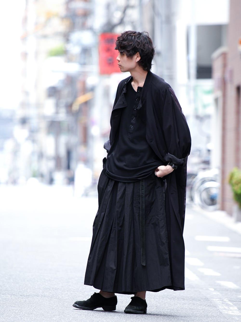 Yohji Yamamoto 19SS HAKAMA Pants 2Way Coordinate - 1-002