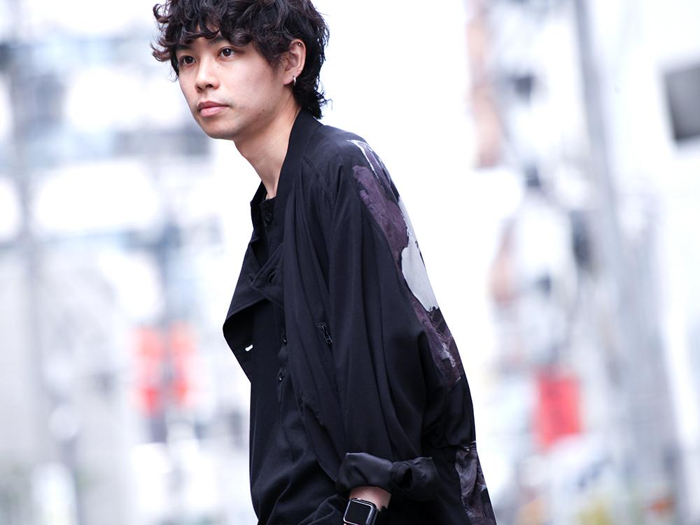Yohji Yamamoto 19SS HAKAMA Pants 2Way Coordinate - 2-004