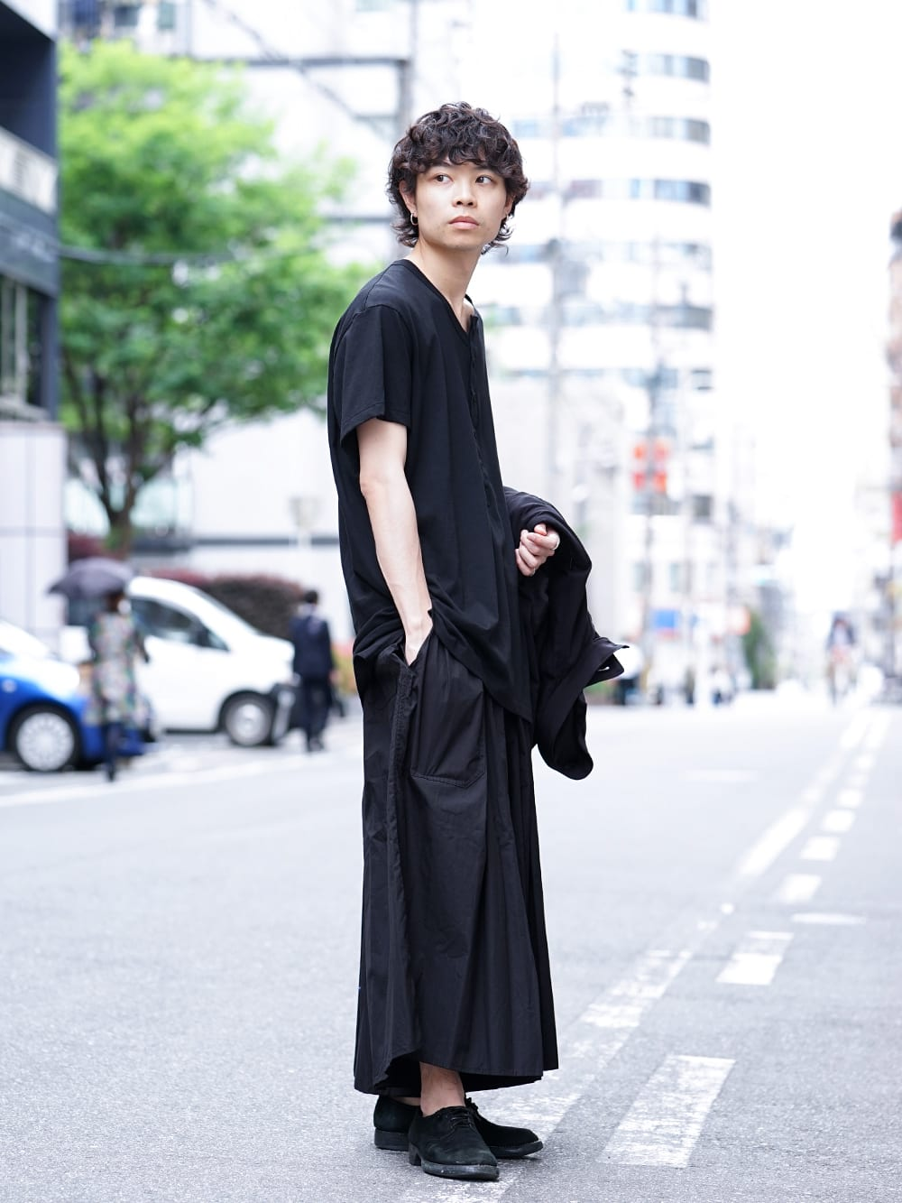 Yohji Yamamoto 19SS HAKAMA Pants 2Way Coordinate - 3-002