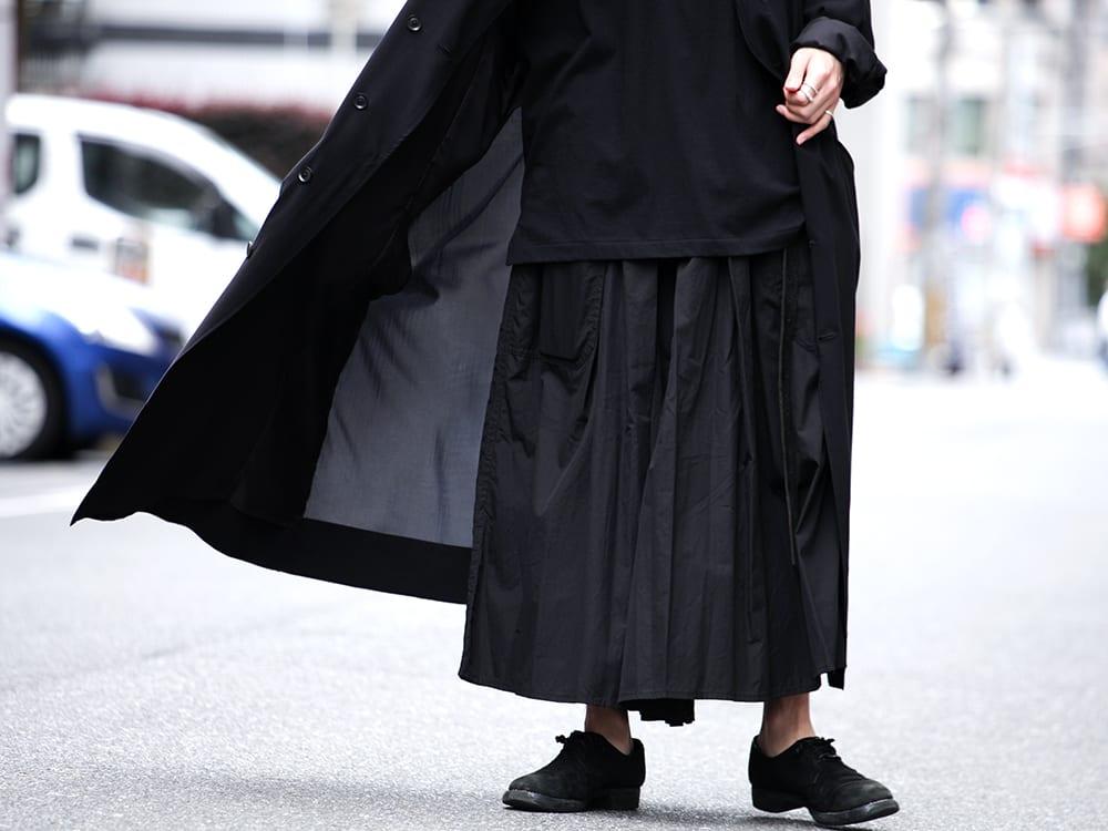 Yohji Yamamoto 19SS HAKAMA Pants 2Way Coordinate - 3-001