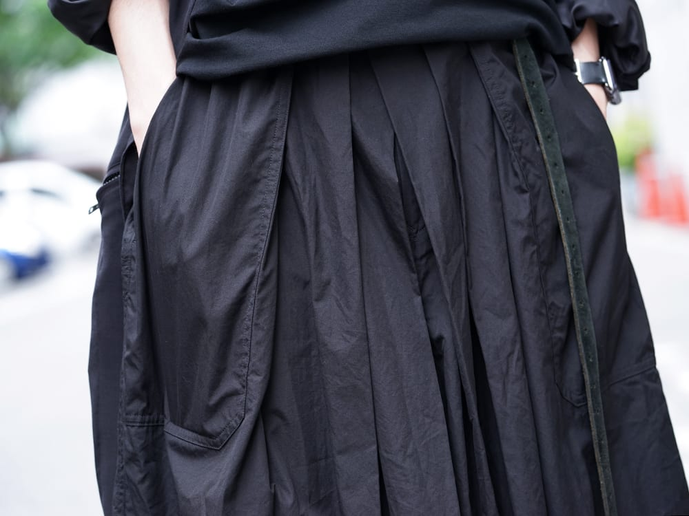 Yohji Yamamoto 19SS HAKAMA Pants 2Way Coordinate - 3-005