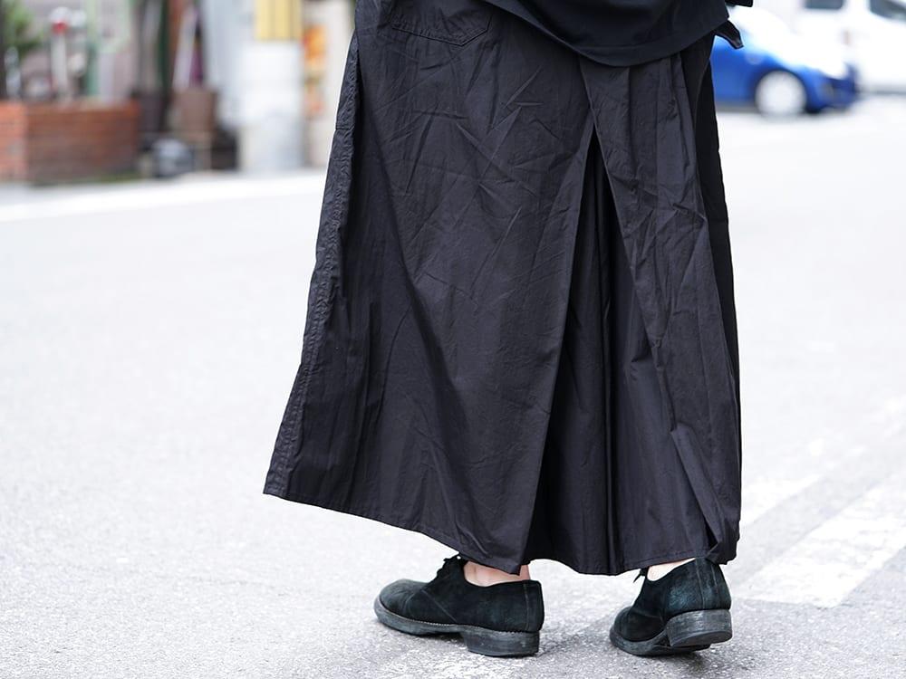 Yohji Yamamoto 19SS HAKAMA Pants 2Way Coordinate - 3-006