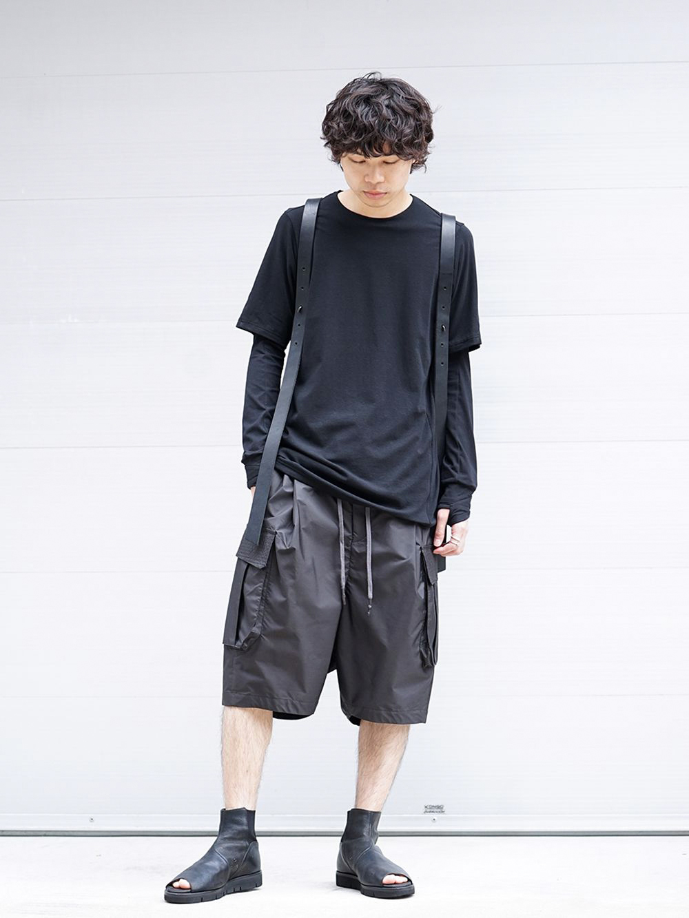 DEVOA 19SS Cutsew & Short Pants Recommended Style - 1-001