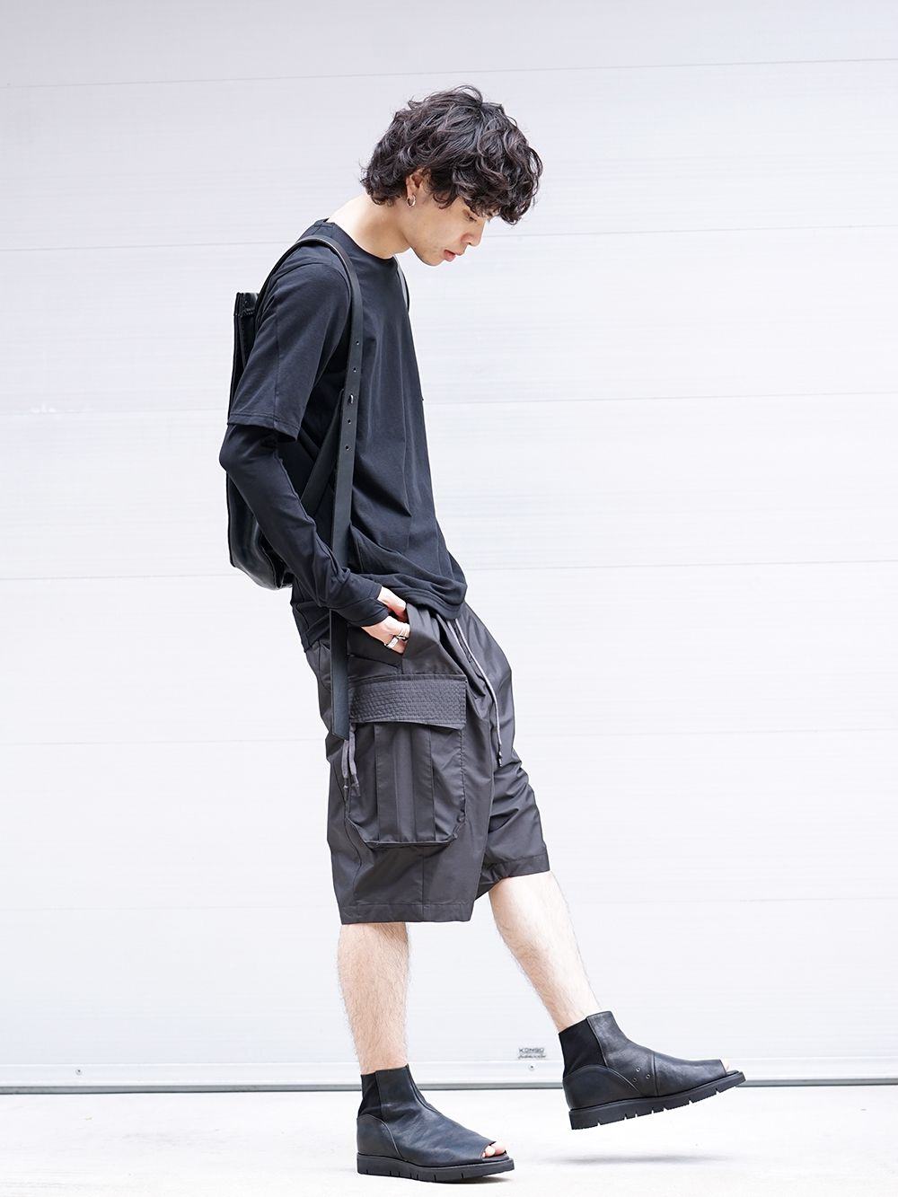 DEVOA 19SS Cutsew & Short Pants Recommended Style - 4-001