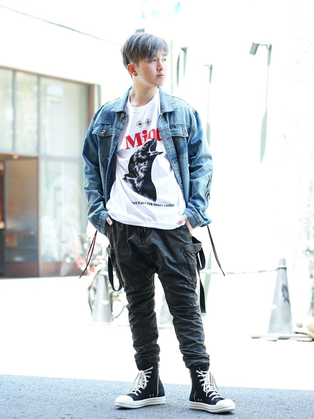 CAVIALE × MINT CREW × The Viridi-anne Military Street style!! - 1-001