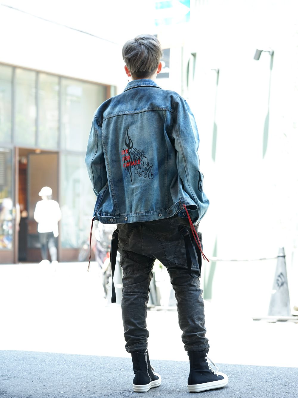 CAVIALE × MINT CREW × The Viridi-anne Military Street style!! - 1-003
