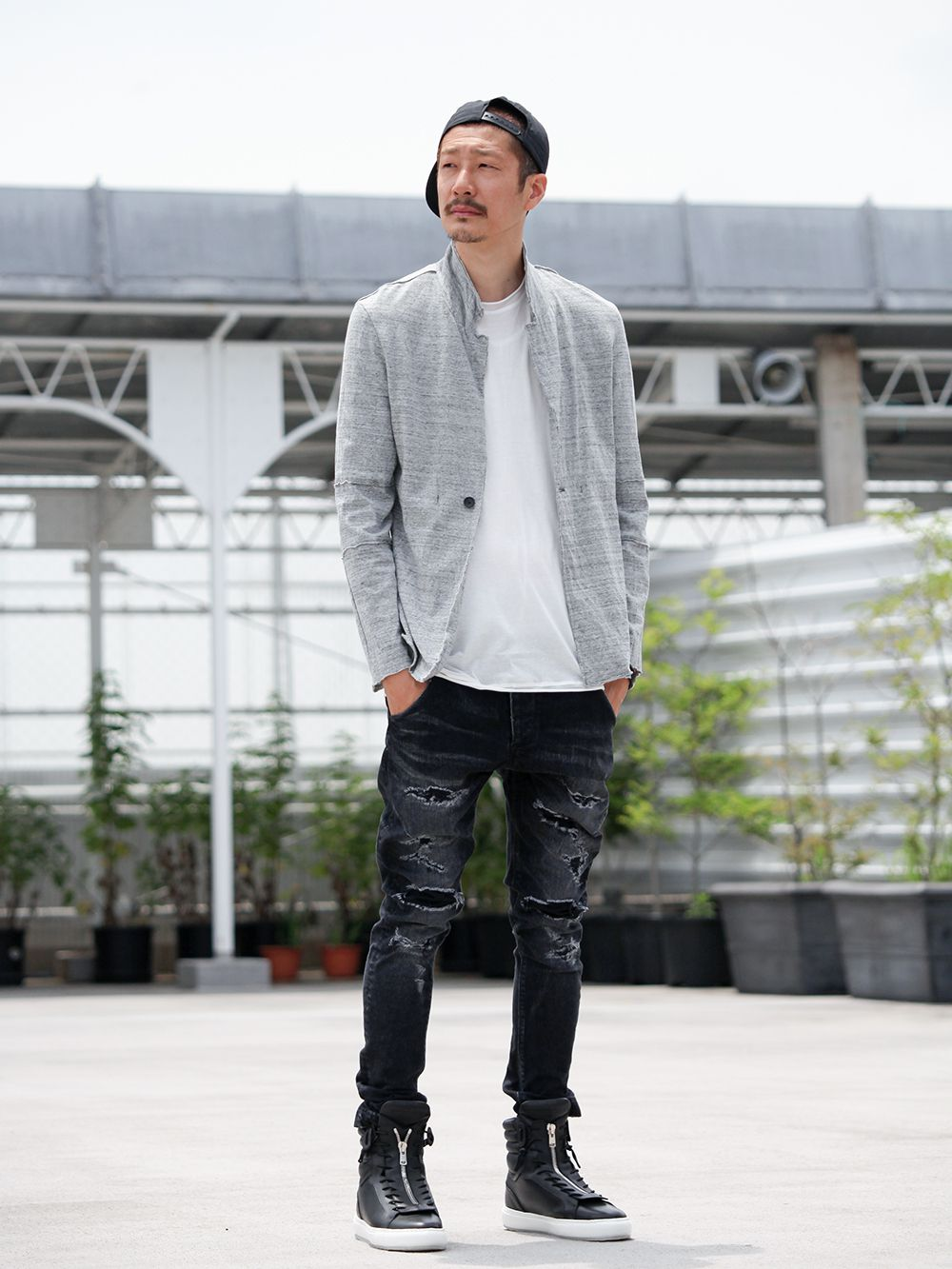 .LOGY kyoto 19SS  [ CRASH DENIM PANTS ] STYLING!!! - 1-001