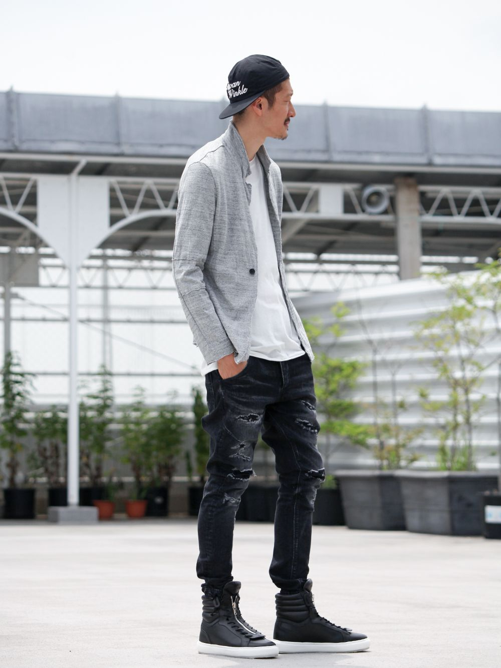 .LOGY kyoto 19SS  [ CRASH DENIM PANTS ] STYLING!!! - 1-002