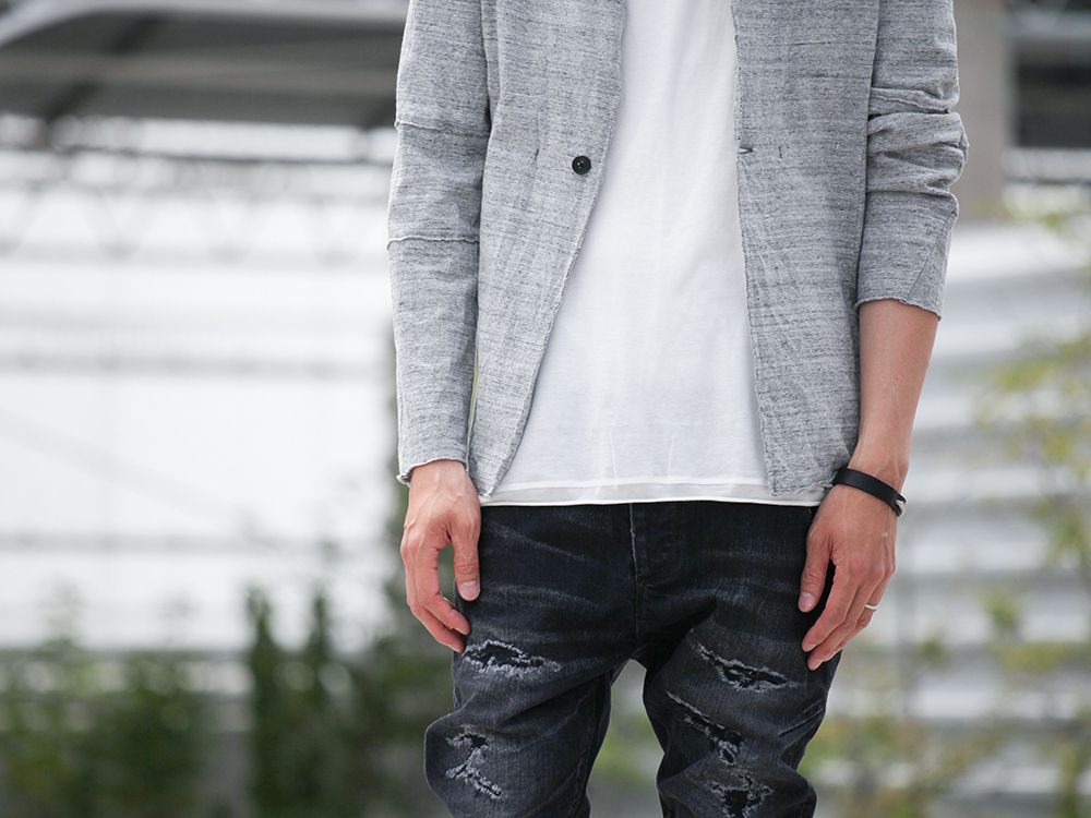 .LOGY kyoto 19SS  [ CRASH DENIM PANTS ] STYLING!!! - 2-004
