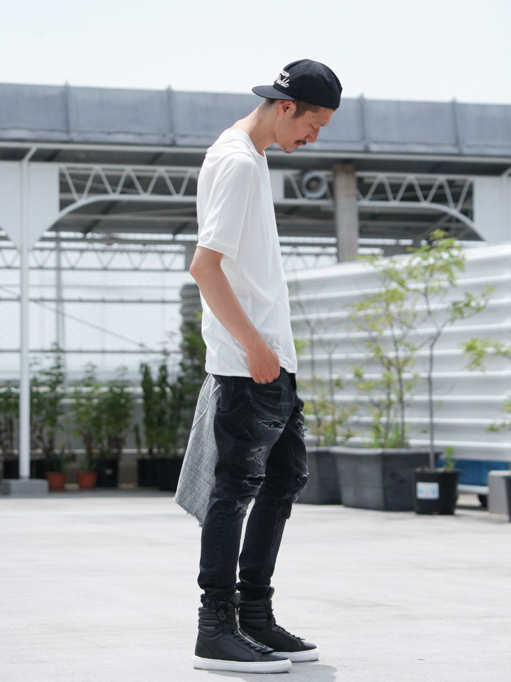 .LOGY kyoto 19SS  [ CRASH DENIM PANTS ] STYLING!!! - 3-001