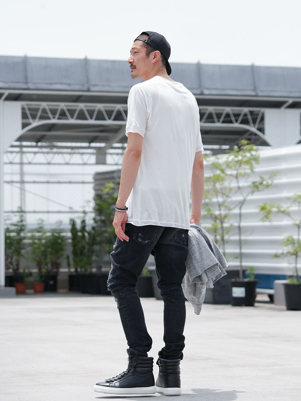 .LOGY kyoto 19SS  [ CRASH DENIM PANTS ] STYLING!!! - 3-002