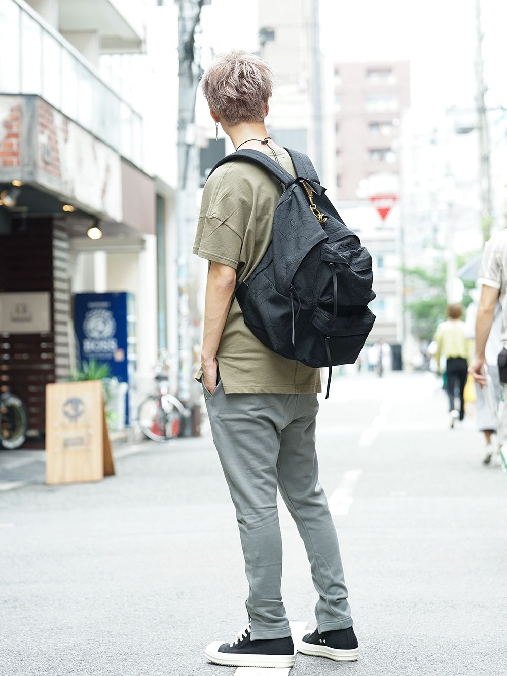DIET BUTCHER SLIM SKIN 19AW Earth color Styling - 1-003
