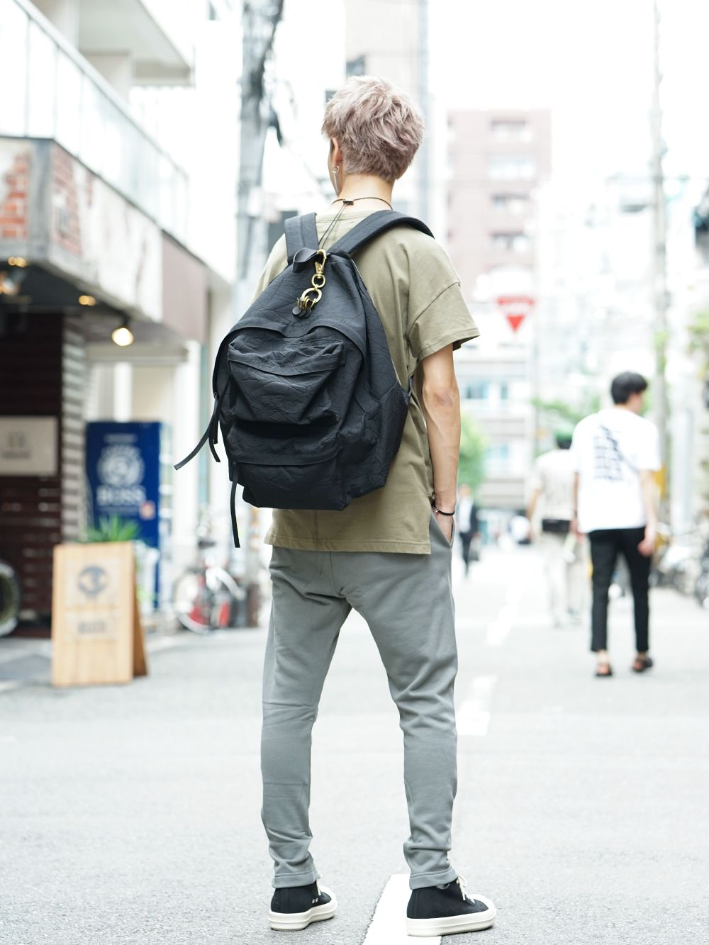 DIET BUTCHER SLIM SKIN 19AW Earth color Styling - 3-004