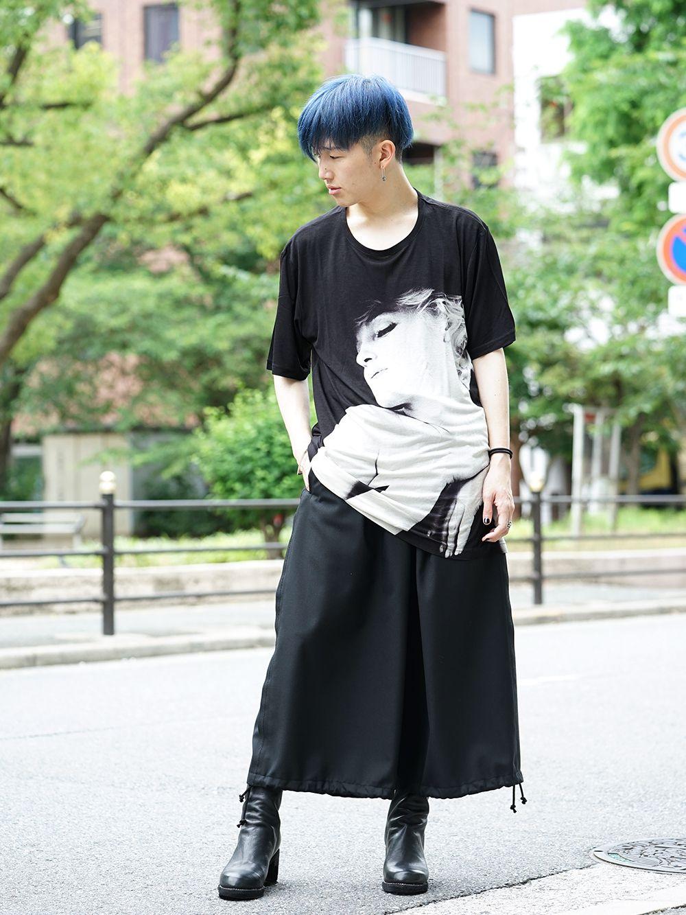 Ground Y × Marilyn Monroe Collaboration  cut & sewn styling - 1-001