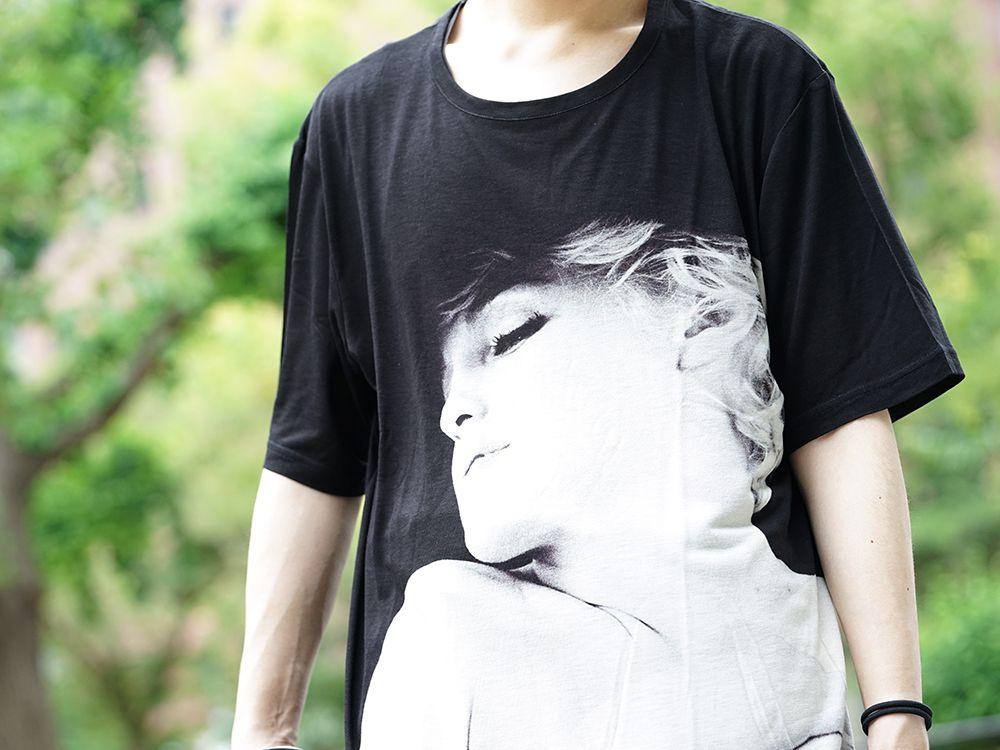 Ground Y × Marilyn Monroe Collaboration  cut & sewn styling - 2-004