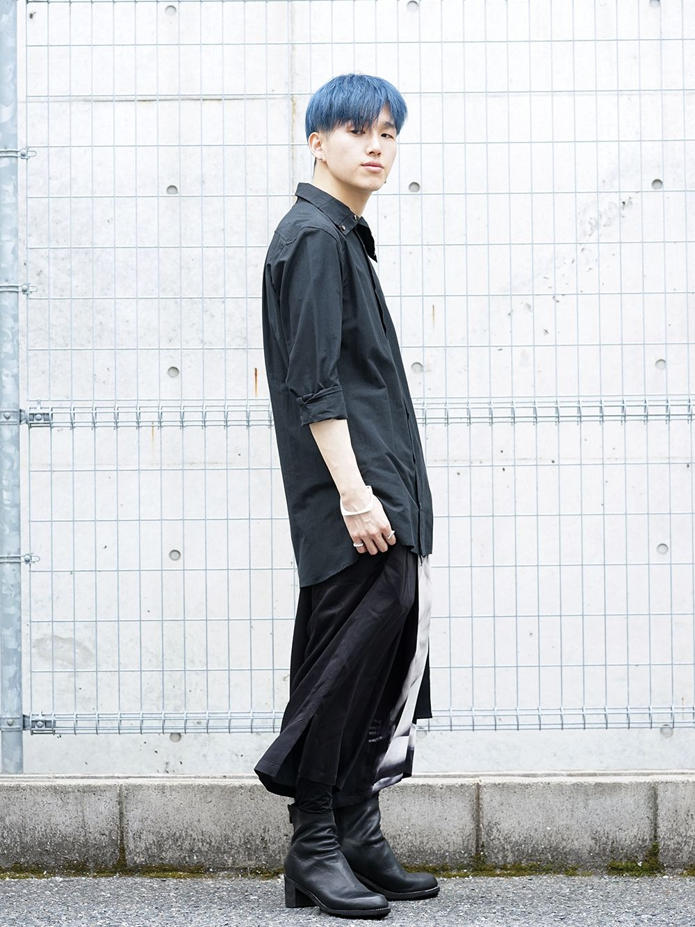 Ground Y × Marilyn Monroe collaboration Wrap belt pants styling!! - 1-002