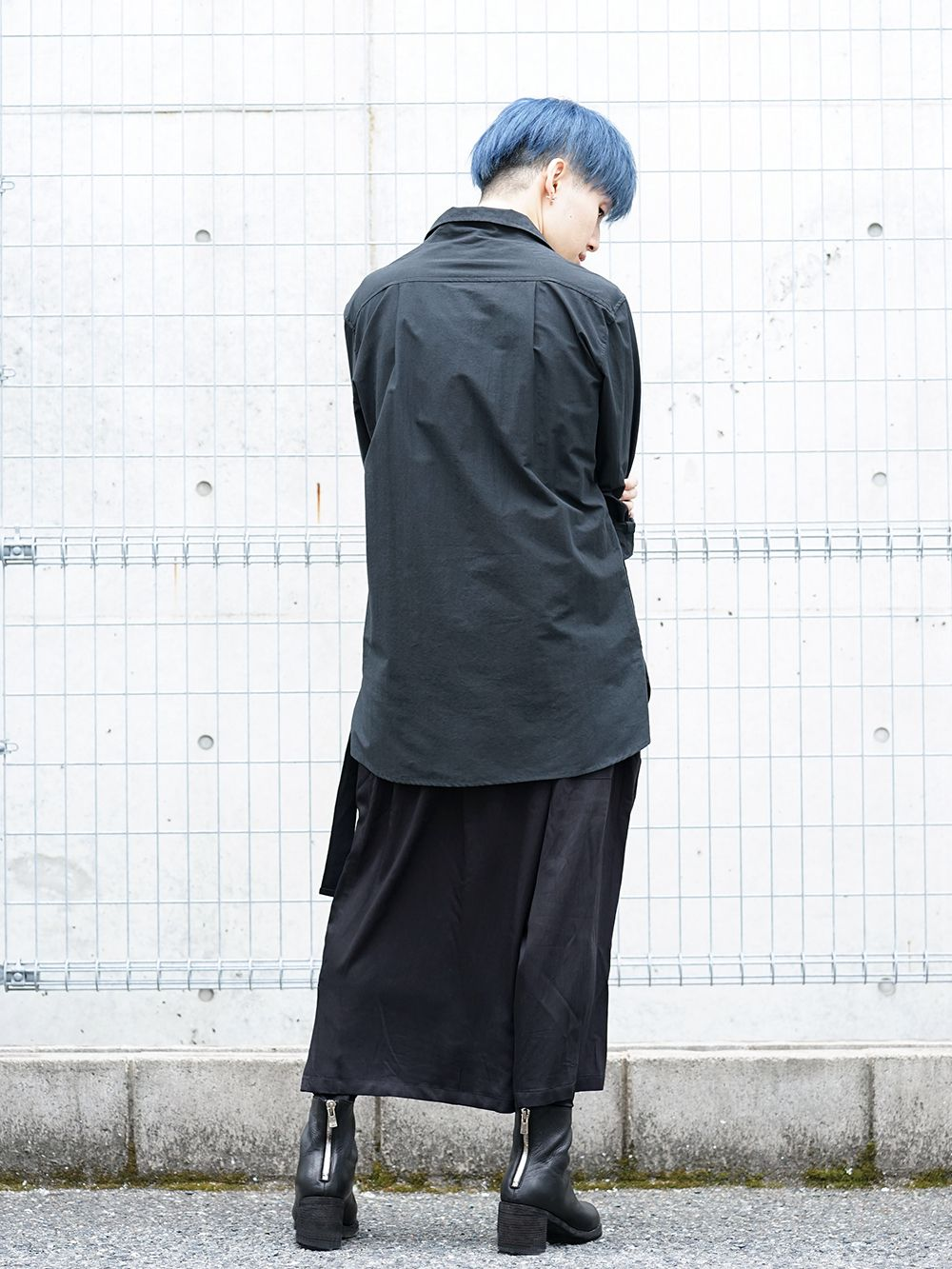 Ground Y × Marilyn Monroe collaboration Wrap belt pants styling!! - 1-003