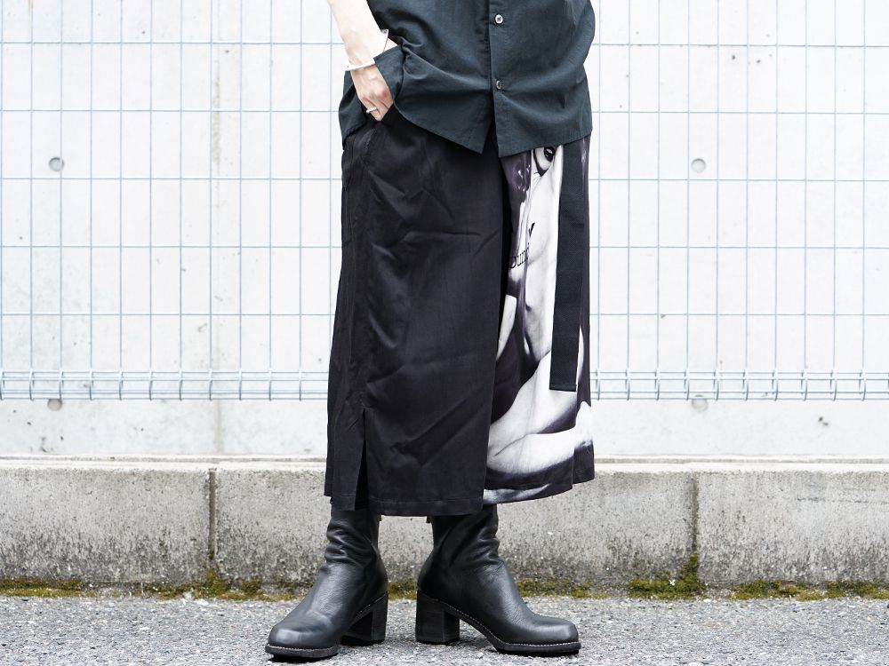 Ground Y × Marilyn Monroe collaboration Wrap belt pants styling!! - 3-002