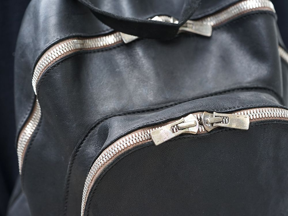 GUIDI Soft Horse Leather Back Pack 3 colors - 1-003