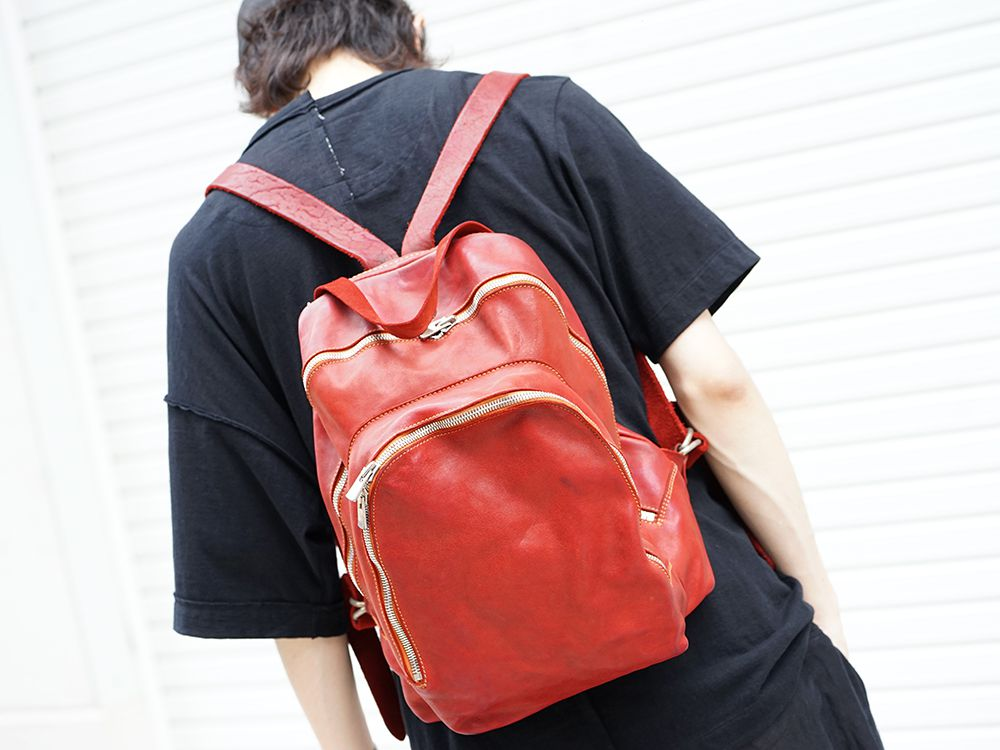 GUIDI Soft Horse Leather Back Pack 3 colors - 2-003