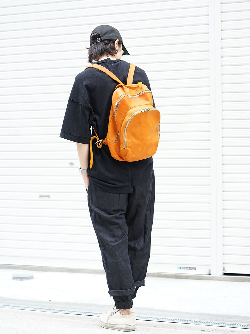 GUIDI Soft Horse Leather Back Pack 3 colors - 3-001