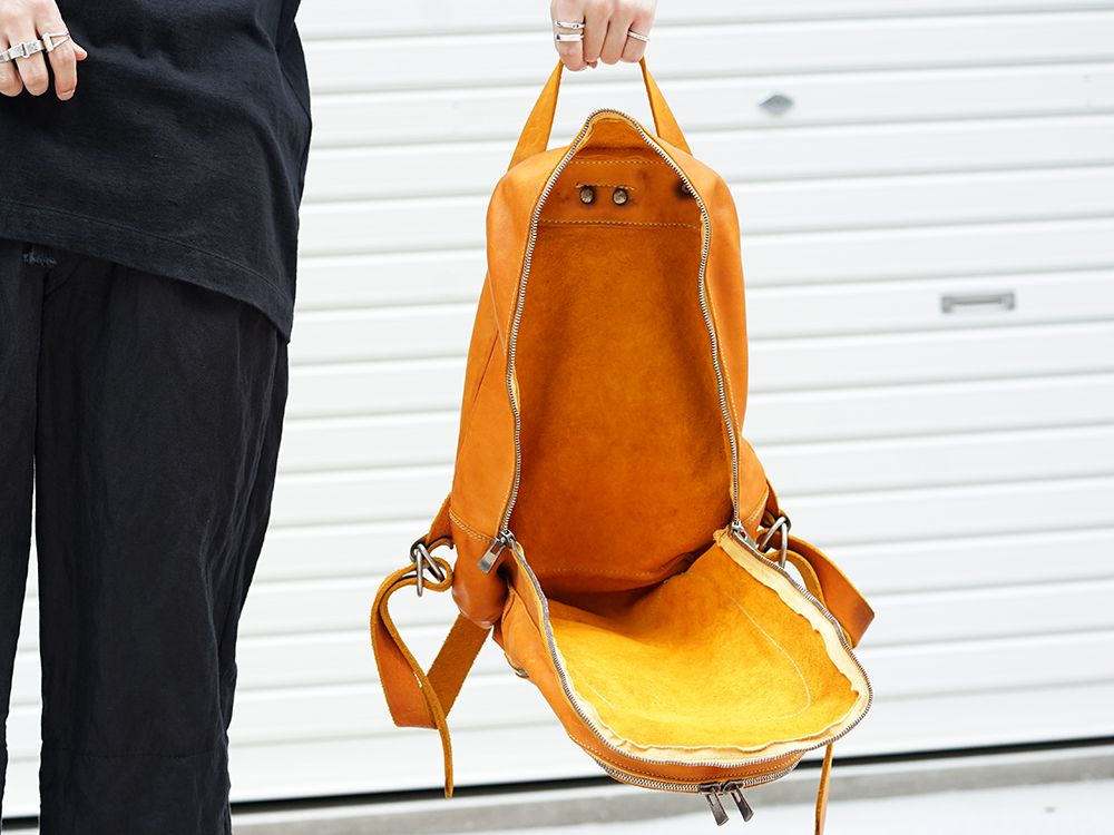GUIDI Soft Horse Leather Back Pack 3 colors - 3-003
