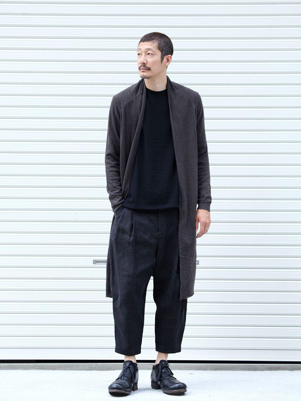 DEVOA 19-20AW wool x alpaca jersey Cardigan Style - 1-001