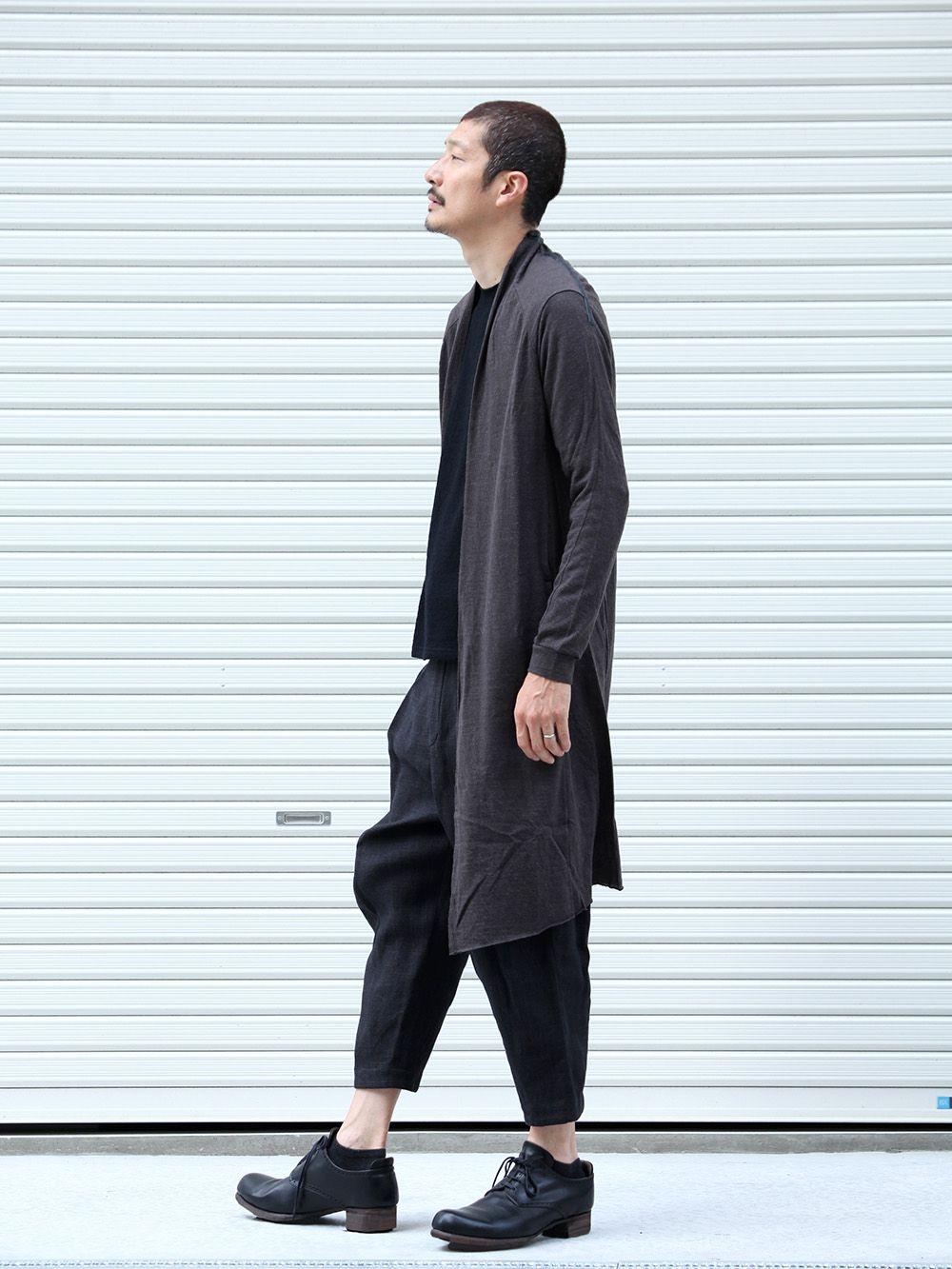 DEVOA 19-20AW wool x alpaca jersey Cardigan Style - 1-002