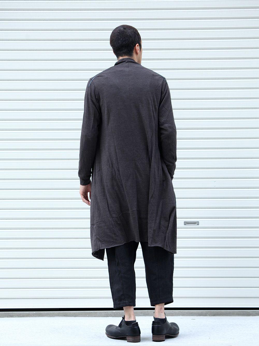 DEVOA 19-20AW wool x alpaca jersey Cardigan Style - 1-003