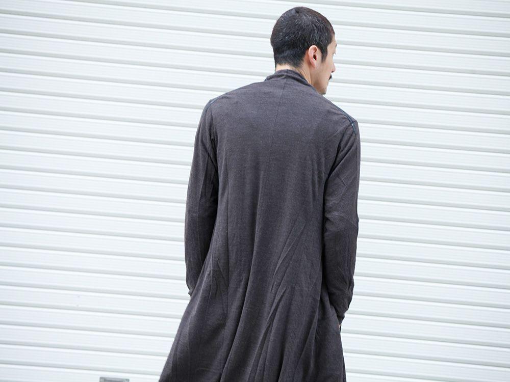 DEVOA 19-20AW wool x alpaca jersey Cardigan Style - 2-002