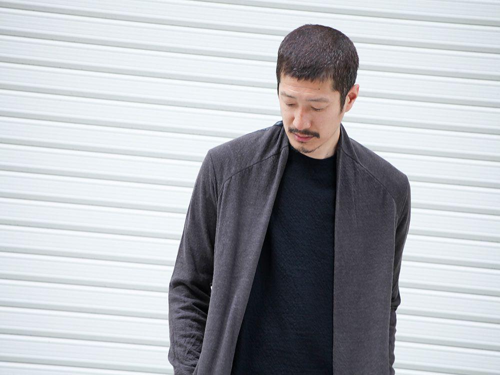 DEVOA 19-20AW wool x alpaca jersey Cardigan Style - 2-003