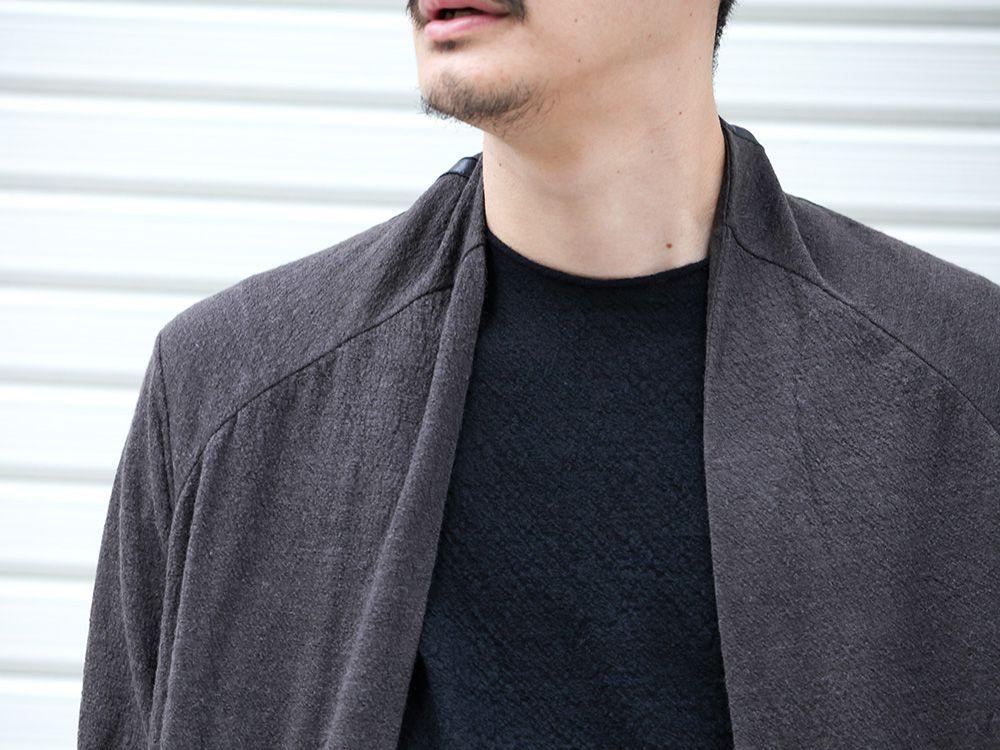DEVOA 19-20AW wool x alpaca jersey Cardigan Style - 2-004