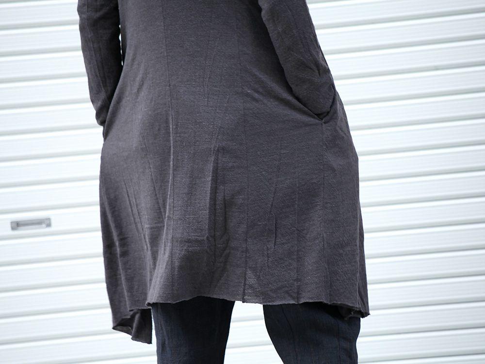 DEVOA 19-20AW wool x alpaca jersey Cardigan Style - 2-006