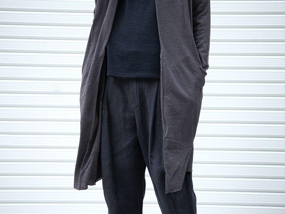 DEVOA 19-20AW wool x alpaca jersey Cardigan Style - 3-003