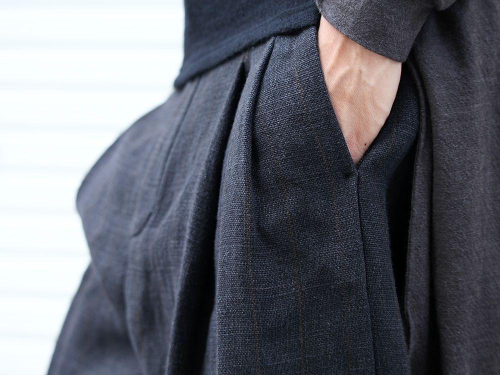 DEVOA 19-20AW wool x alpaca jersey Cardigan Style - 3-004