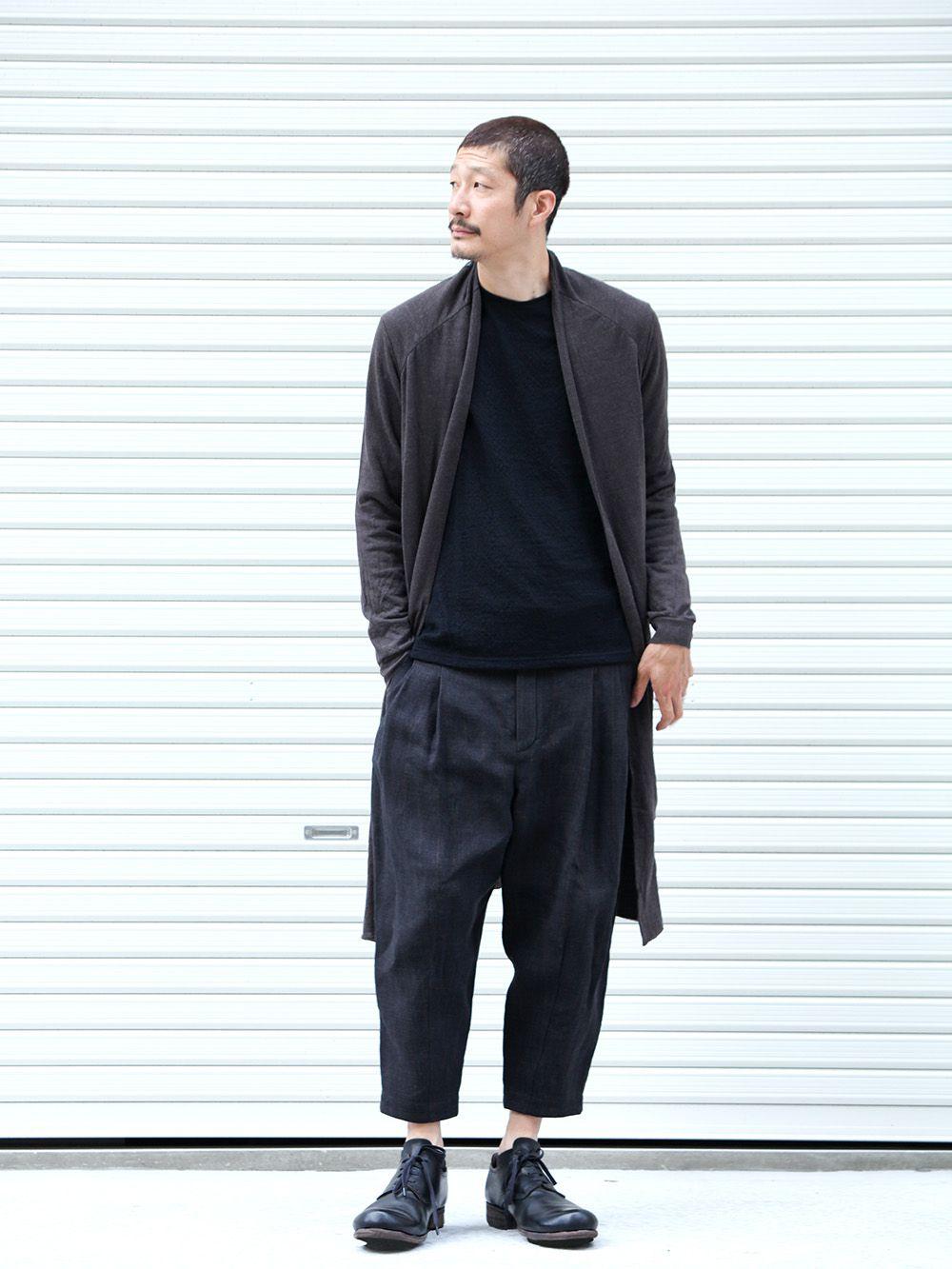 DEVOA 19-20AW wool x alpaca jersey Cardigan Style - 4-001