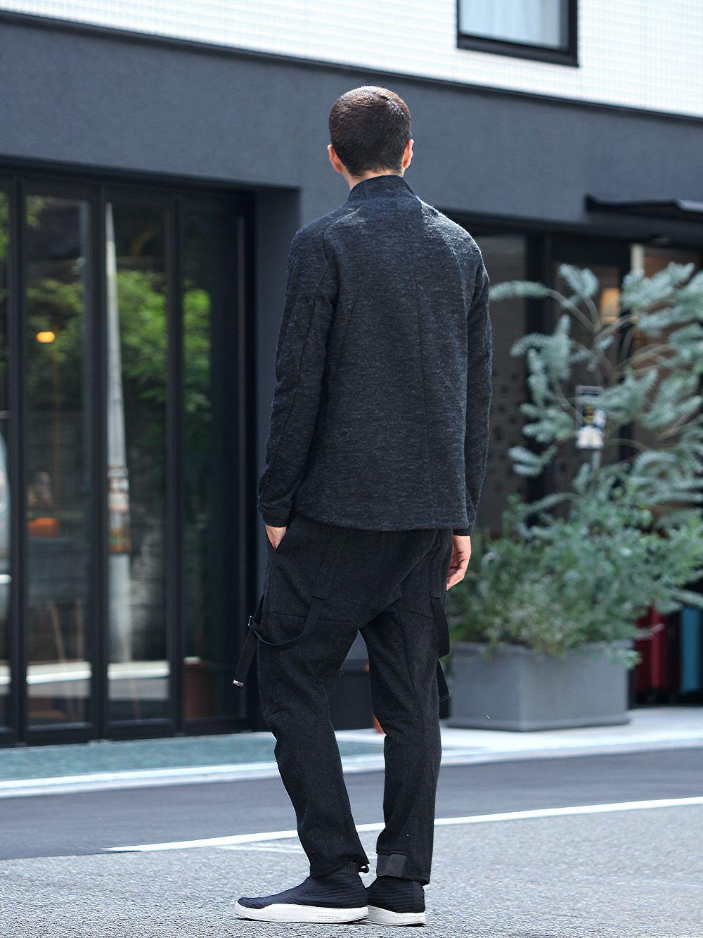D.HYGEN Norwegian wool Bonding cardigan Style - 1-003