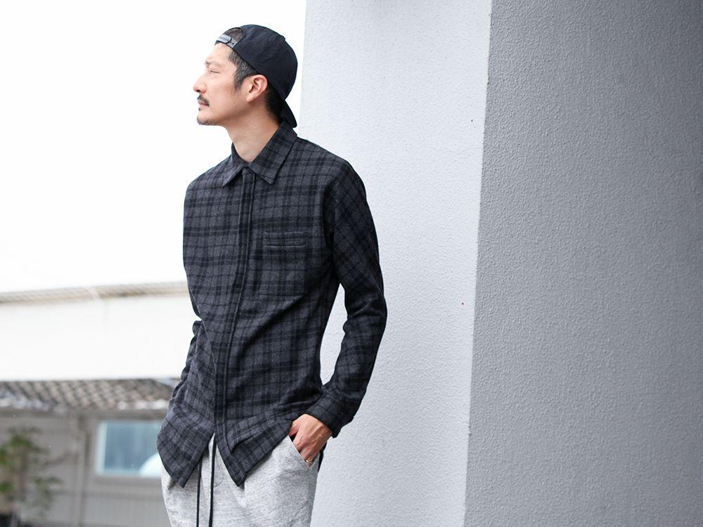 RIPVANWINKLE【 NEL LAYER SHIRTS 】STYLE !!! - 3-004