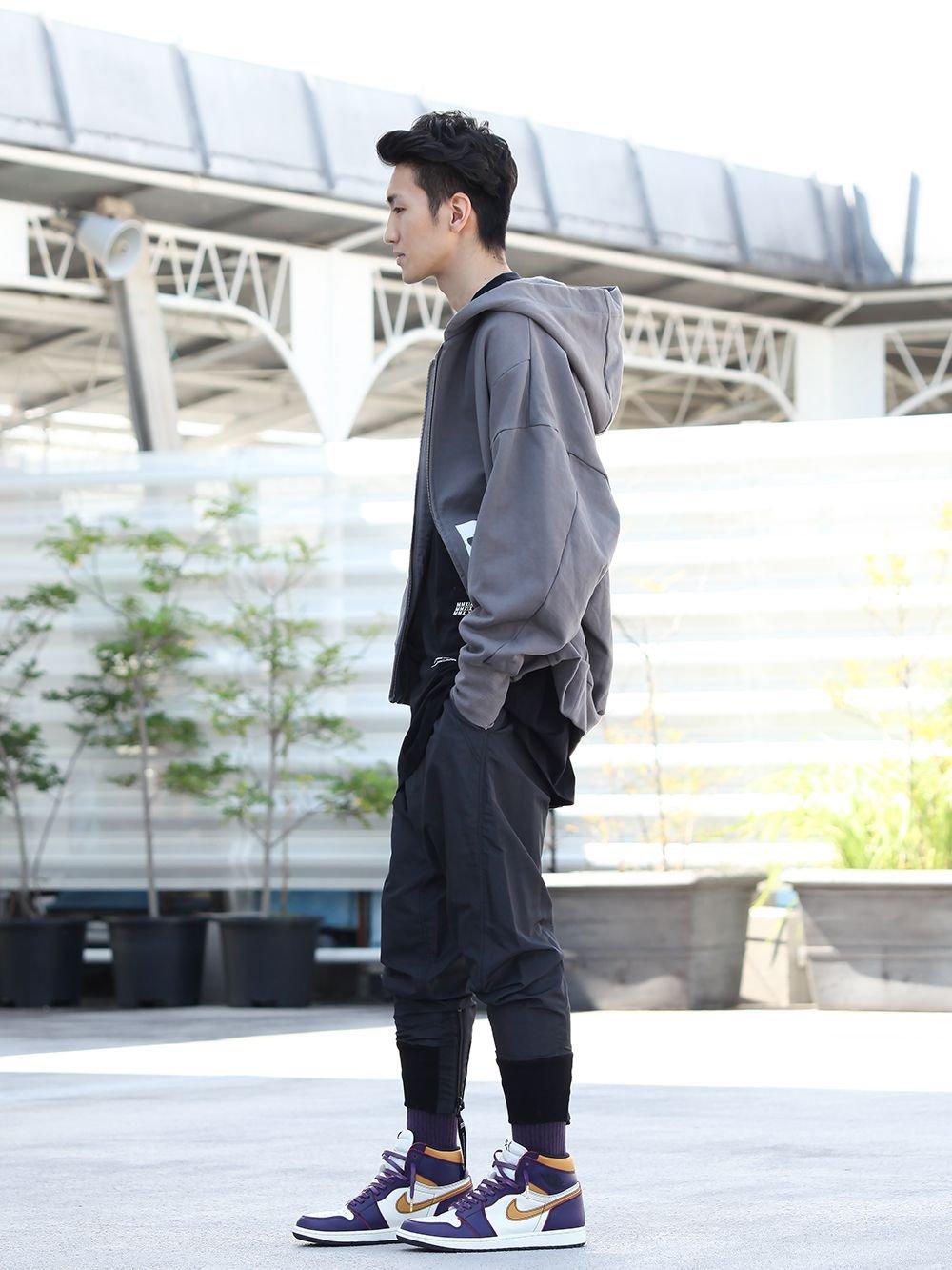 .LOGY kyoto 19-20AW JULIUS  【D.A. BALLOON HOODIE】STREET STYLE!! - 1-003