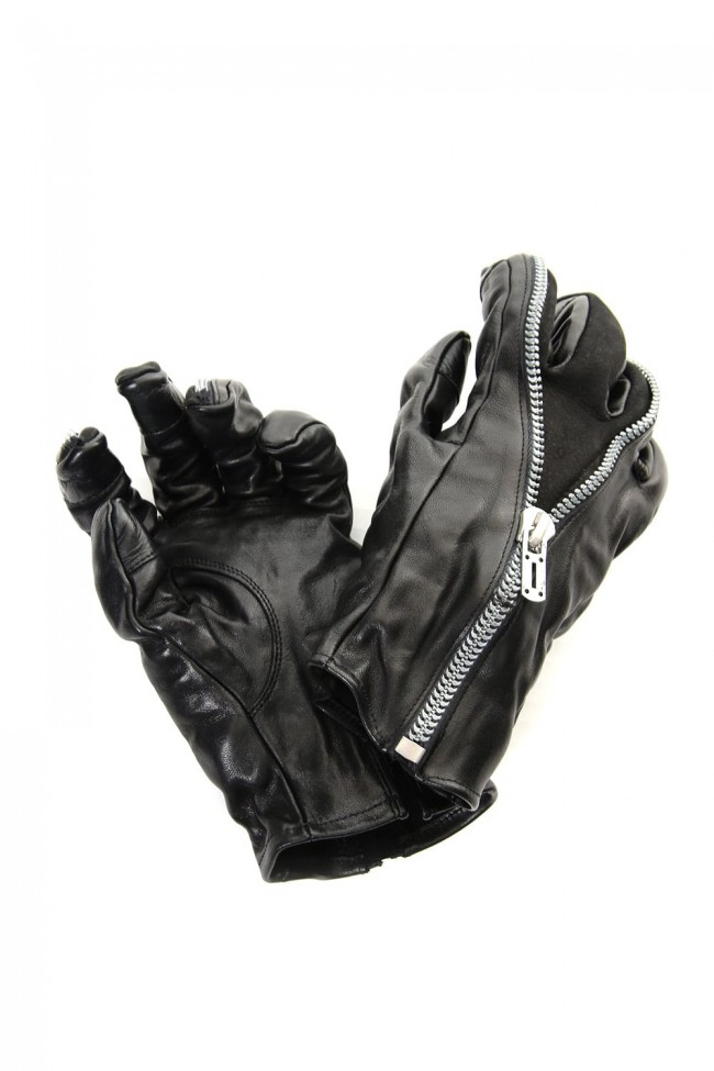 D.HYGEN 19-20AW Leather Gloves Collection - 1-001
