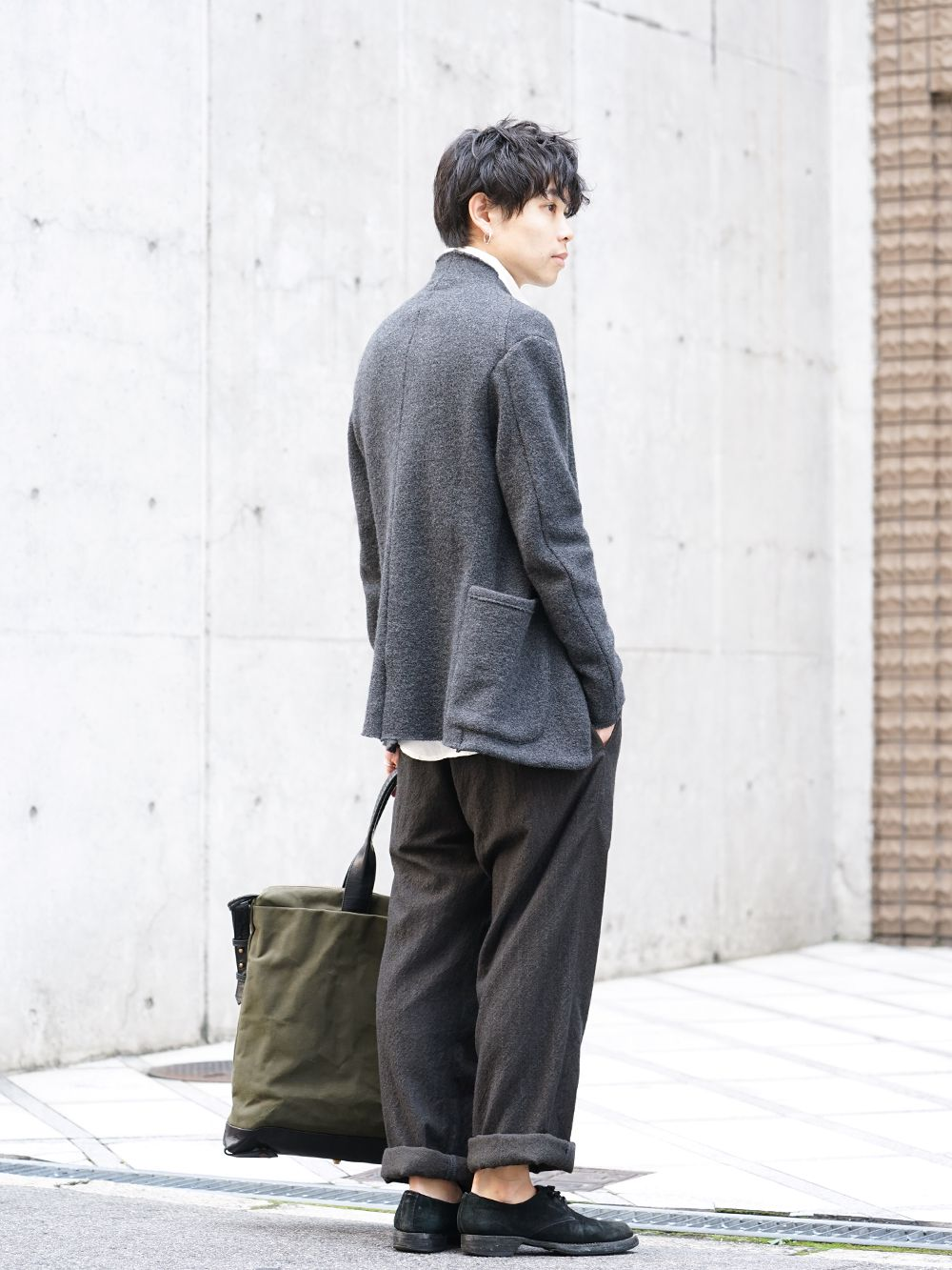 hannibal 19-20AW Autumn Knit Jacket Style - 1-003