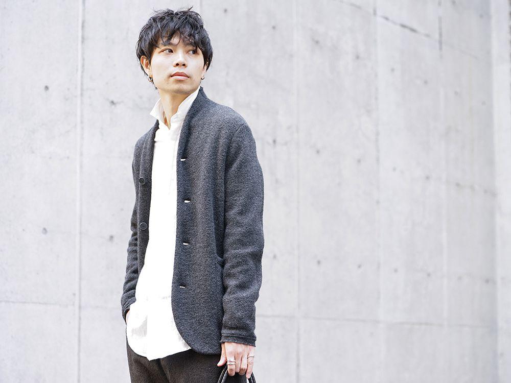 hannibal 19-20AW Autumn Knit Jacket Style - 2-001