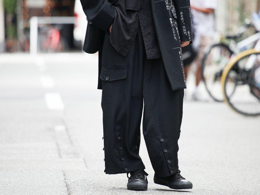 Yohji Yamamoto Asymmetry Dictionary Jacket Style - 3-001