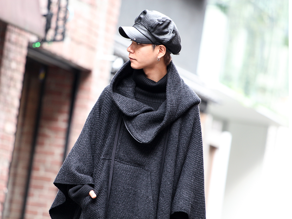 nude:masahiko maruyama & The Viridi-anne 19aw PONCHO Styling!! - 2-001