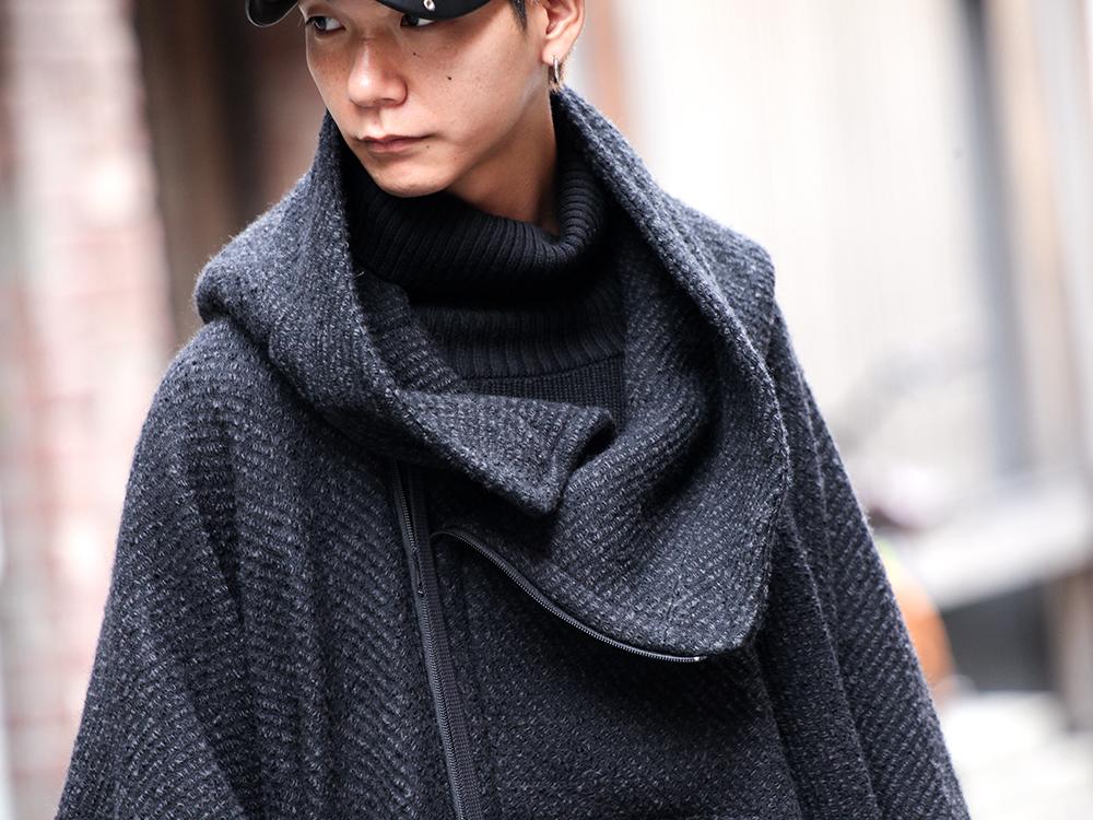 nude:masahiko maruyama & The Viridi-anne 19aw PONCHO Styling!! - 2-003