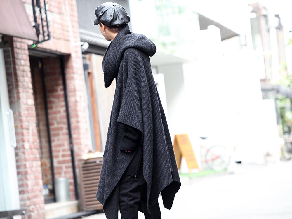 nude:masahiko maruyama & The Viridi-anne 19aw PONCHO Styling!! - 2-006