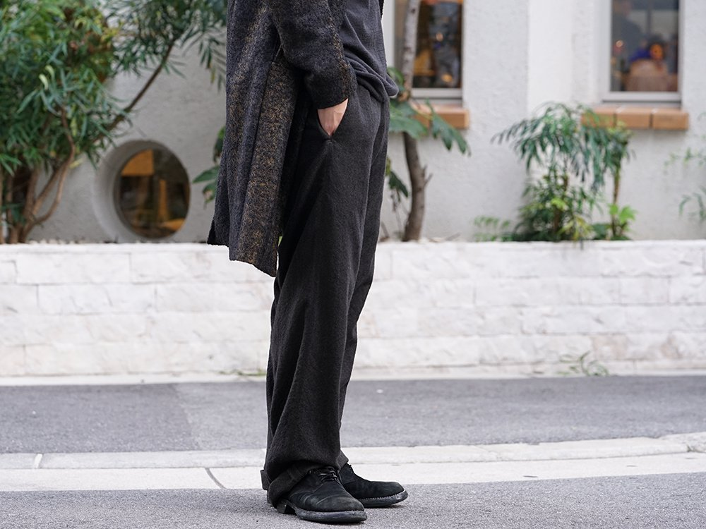 hannibal 19-20AW Needle Punch Check Coat Style - 3-003