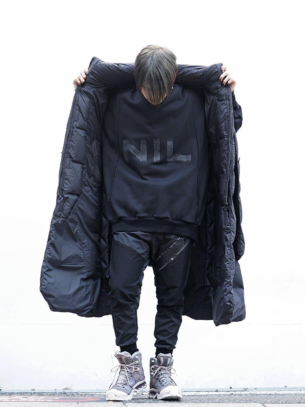 HAMCUS × NILøS 19aw Down long vest Black Styling!! - 1-004