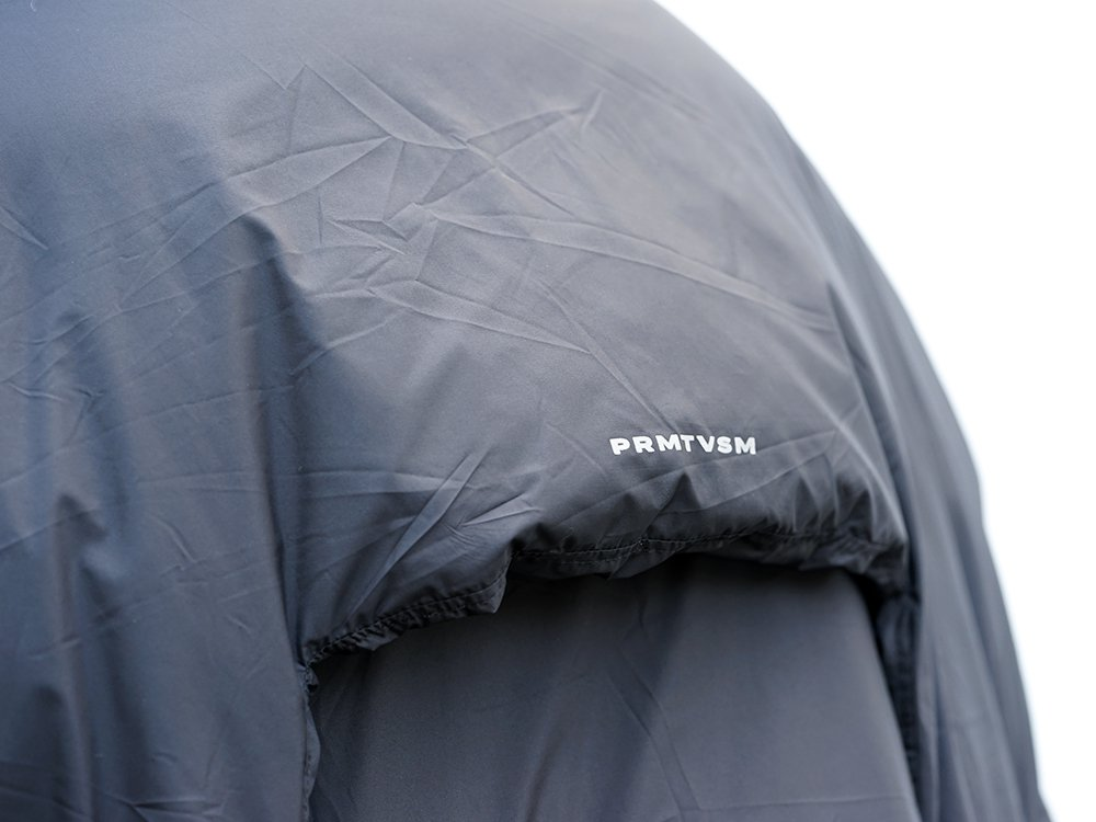 HAMCUS × NILøS 19aw Down long vest Black Styling!! - 2-003